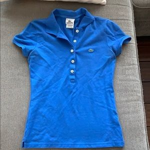 Lacoste female fitted polo